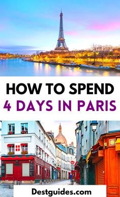 Have 4 days in Paris? Here is a complete itinerary for exploring Paris in four days. | 4 days in Paris itinerary | Paris itinerary for 4 days | how to spend 4 days in Paris | things to do in Paris in 4 days | best places to visit in Paris | things to do in Paris, France | beautiful places in Paris | Paris best places to visit | top tourist attractions in Paris | Paris in four days itinerary | unusual things to do in Paris | Paris bucket list | #Destguides