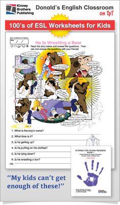 ESL Worksheets - Looking for practical worksheets for your ESL elementary thru…