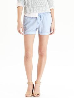 "Women's Linen-Blend Shorts (3 1/2"").  One of my favorite shorts.  I have 3 pairs.  Love Old Navy!"
