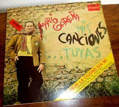 MIS CANCIONES TUYAS // MARIO GARENA POLYDOR LP ST 2404004