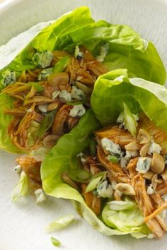 5 ingredients and 15 minute prep for lettuce wraps!