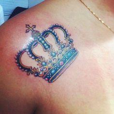 tatuagem feminina de coroa - Pesquisa Google