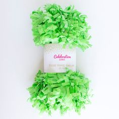 Lime Green Tissue Fr