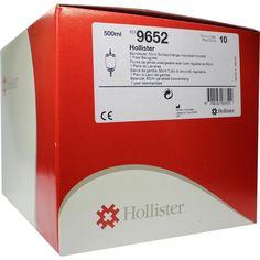 HOLLISTER Urin Beinbtl.m.Ablauf 500 ml unsteril:   Packungsinhalt: 10 St Beutel PZN: 00659992 Hersteller: Hollister Incorporated Preis:…