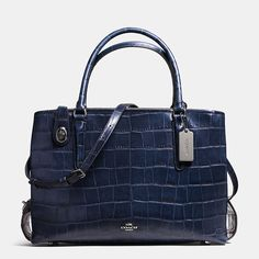 Shop The COACH Brooklyn Carryall 34 In Croc Embossed Leather. Enjoy Complimentary Shipping & Returns! Find Designer Bags, Wallets, Shoes & More At COACH.com!