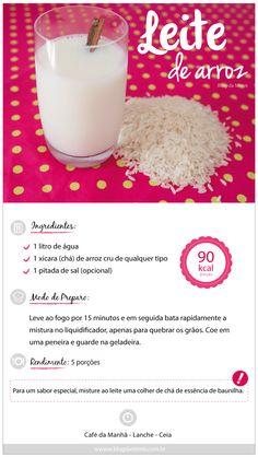 Leite de arroz (Blog da Mimis)