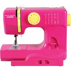 Janome 10-Stitch Fast Lane Fuschia Sewing Machine, Fastlane