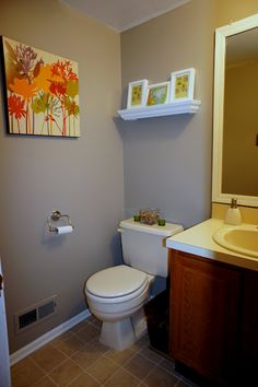 Cute Bathroom But I 39 M Always Nervous To Put Candles On The Back Of The Toilet I Feel Like I 39 M