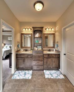 Gorgeous bathroom vanity mirror design ideas (15)