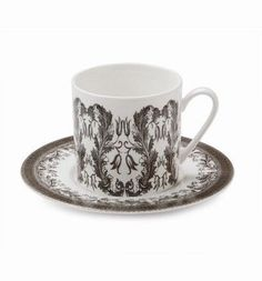 Yorkshire Hedgerow Tea Cup and Saucer