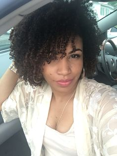 Wash and go with Shea moisture curl enhancing smoothie and echo style olive oil gel.