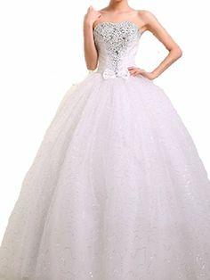 WT09 WHITE SIZE 8-14 Wedding Bride Dresses party full length prom gown ball dress robe (12, White) LondonProm http://www.amazon.co.uk/dp/B00KH61R9A/ref=cm_sw_r_pi_dp_Vj0Qtb0QDYH45KTP