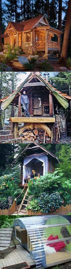 Оригинальные дачные домики