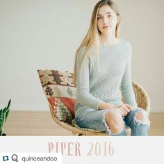 #Repost @quinceandco with @repostapp. .... my first one for Quince was published today. ...couldn't be more excited  #isabellkraemer #lilalu #newdesign #knittersofinstagram #newpullover #knittingdesign #quinceandco #aprilpullover by lilalu72