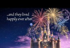 ...and they lived happily ever after.