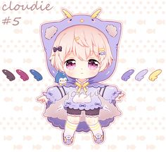 cloudie 5 auction: [CLOSED] by jorsu on DeviantArt