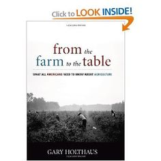This book is to farming what the Nickerson book is to economics.  It develops the history of how our industrial agriculture came to be what it is today and what we, as individuals, should do to be part of creating a healthy and sustainable food system.  It is well written, sensitive, and down-to-earth.