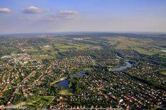 Veresegyház felülről Fotó: Nagy György Hungary, City Photo