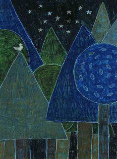 柿本芳枝 / Yoshie Kakimoto: Original   painting