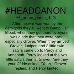 Instagram photo by _percy_posts_ - {My Edit Give Credit} Ok so this is another random #headcanon I thought of! If you repost please give creds All of my headcanons are here ➡️ #percypostsheadcanons Please don't use this hashtag I always post 3 headcanons in a row and I have so many people to tag so 1/3 of u is going to be tagged in the 1st headcanon then the other 1/3 in the 2nd then the other other 1/3 on the 3rd so just know that there are 3 headcanons in all u just have to go on my page…