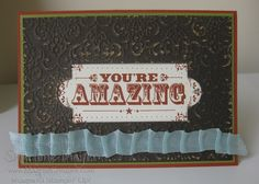 Created for my downline using lots of yummy products from Stampin' Up! www.magpiecreates.com