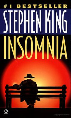 Insomnia, by Stephen King. One of the most vivid, imaginative and beautifully written books I've ever read.