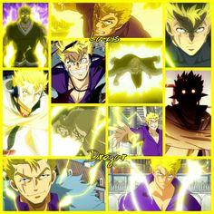 The incredible Laxus Dreyar with his great lightning magic! Enjoy! (: Wallpaper/Grid