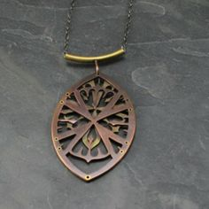 Elizabeth Boswell- Window Pendant from Oxidize Metal Art Gallery for $150 on Square Market