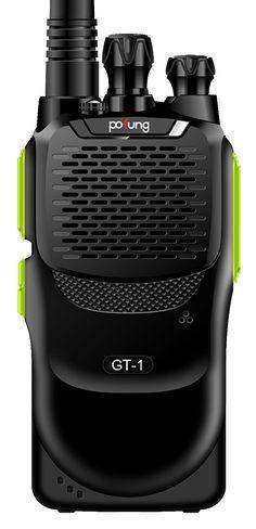 Pofung GT-1 Two-Way Ham Radio, UHF 400-470MHz 16 Channels *Green* - Home Two-Way Radio Two-Way Radio, Accessories   Radioddity