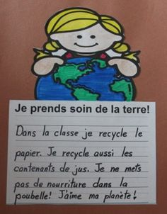 NO PREP 35 French writing prompts! Le printemps, la fête de Pâques, le jour de la terre! Teaching Themes, Teaching Tools, Student Learning, Teaching Resources, Earth Day Activities, Math Activities, Communication Orale, Reading Recovery, Core French