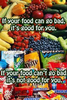 Good vs. Bad Food