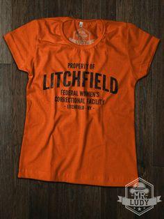 Camiseta Orange os the new Black - Property of Litchfield