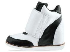 Deceiving Wedged High Heels - The Jeffrey Campbell Teramo Sneakers Feature a Hidden Platform (GALLERY)