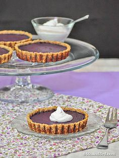 Purple Carrot Pie - need to get my hands on some purple carrots.. maybe beets would work??