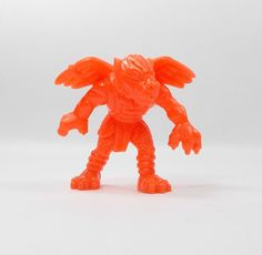 Monster In My Pocket - Series 1 - 9 Tengu - Neon Red - Mini Figure