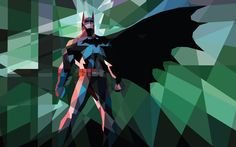 Low-poly Batman