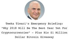 PR: Palm Beach Research Group Hosting a Free Cryptocurrency Training and Giving Away $1 Million Dollars in Bitcoin