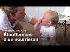 Étouffement d'un nourrisson: Premiers secours. Croix Rouge/Croissant Rouge - YouTube