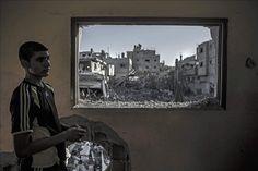 No es una televisión, es la ventana. #Gaza pic.twitter.com/GHUWrs7C5m