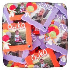 ♥ Tiryaki Hobi ♥: Keçe çerçeve magnet - balon (ÖYKÜ)  ------- felt frames Graduation Gifts, Magnets, Meet, Graduation Presents, Gifts For Graduates