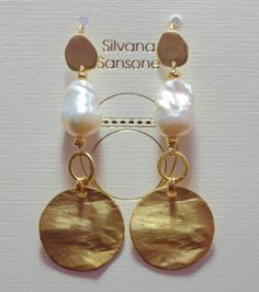 Earring by Silvana Sansone, sicilian designer from Palermo { Address: Via Torrearsa, 9 }