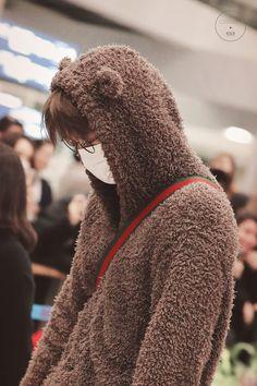 Kai - 190122 Incheon Airport, arrival from Santiago Credit: KNK. Kaisoo, Exo Ot12, Exo Kai, Chanyeol, Kyungsoo, Chen, Sekai Exo, Exo Lockscreen, Kim Minseok