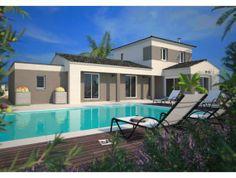 modèle de maison individuelle la pallice - n°118 | tipografie ... - Modele De Maison En L