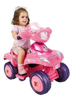 QUAD MINNIE DISNEY GIRL MOTOR 6V, FEBER 800006381, IndalChess.com Tienda de juguetes online y juegos de jardin