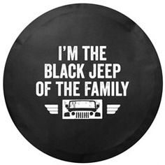 Black Jeep of the Family Tire Cover Jeep Wheel Covers, Jeep Covers, Custom Jeep Tire Covers, Black Jeep Wrangler, Wrangler Jl, Jeep Scout, Jeep Wrangler Accessories, Jeep Truck, Jeep Life