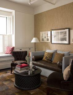 Noho Loft - contemporary - living room - new york - Thom Filicia Inc.