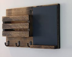Tall Vertical Wall Chalkboard Cork Bulletin Board With