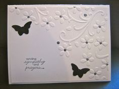Stampin' Up sympathy card