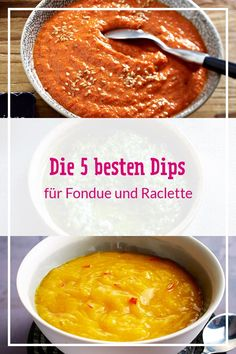The best dips for fondue and raclette - Raclette - die besten Rezepte und Tipps - Sauce recipes Dips Für Fondue, Cheese Fondue Dippers, Best Cheese Fondue, Gourmet Appetizers, Easy Appetizer Recipes, Raclette Recipes, Easy Cheese, Summer Snacks, Recipes