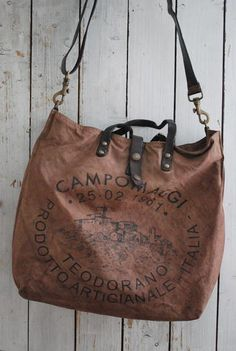 CAMPOMAGGI - SHOPPINGBAG - MORO